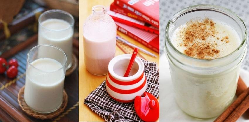 cách làm sữa gạo hàn quốc 21 cách làm sữa gạo hàn quốc Vào bếp học cách chế biến sữa gạo Hàn Quốc vô cùng đơn giản cach lam sua gao han quoc thom ngon beo ngay don gian 21