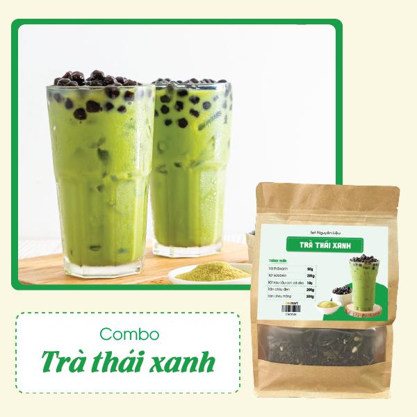 cách nấu trà sữa thái xanh Cách nấu trà sữa thái xanh năng lượng cho cả mùa hè nắng nóng tra xanh