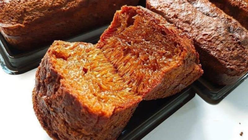 cách làm bánh bò nướng Cách làm bánh bò nướng dân dã đậm đà hương sắc miền Nam Bộ B  NH B   N     NG AA