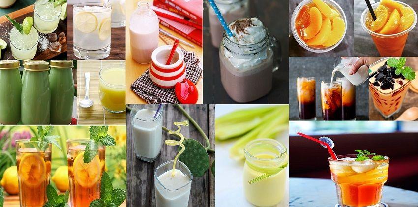 Thức uống giải nhiệt thức uống giải nhiệt Thức uống giải nhiệt tốt cho sức khỏe – Tổng hợp 10 công thức siêu hay cach lam 10 loai tra sua sinh to giai nhiet mua he 111