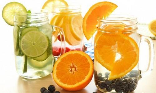 3 công thức nước uống giảm cân 1