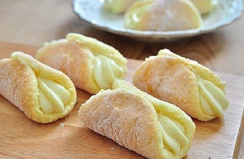Cách làm bánh Custard sponge cake carol – Bánh Kim Đỉnh