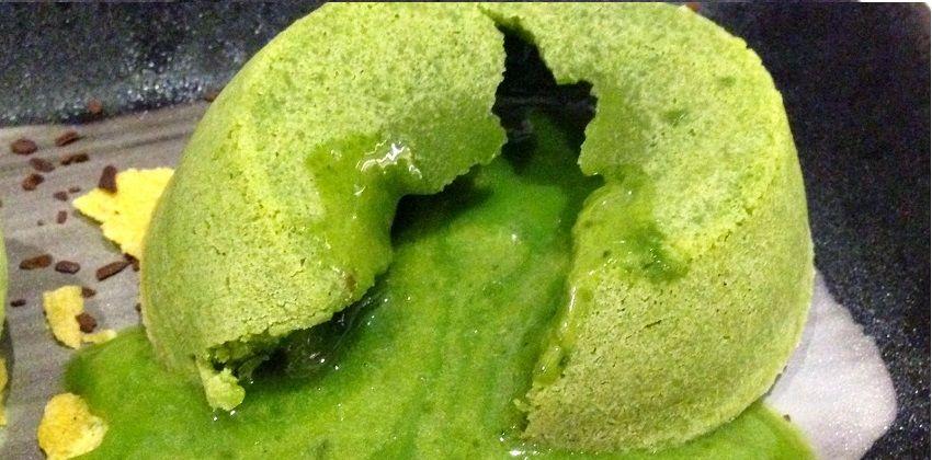 Đẹp mắt với cách làm matcha lava cake siêu ngon siêu độc đáo