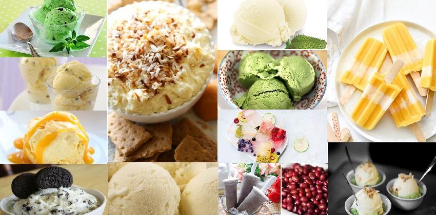 Tổng hợp những món kem thơm ngon, tươi mát cho mùa hè này.
