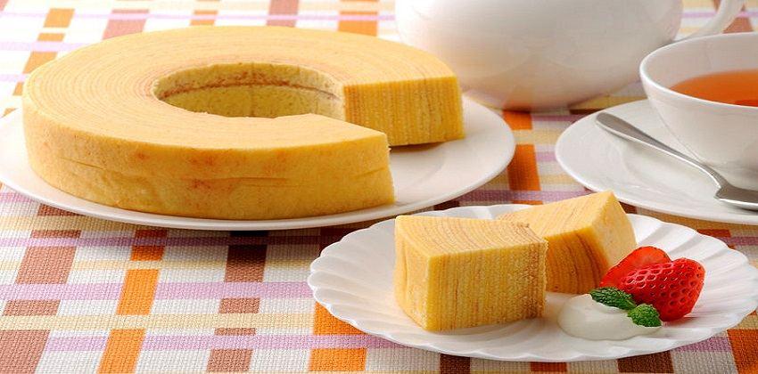 Mê mẩn với vẻ đẹp của bánh Baumkuchen vua các loại bánh