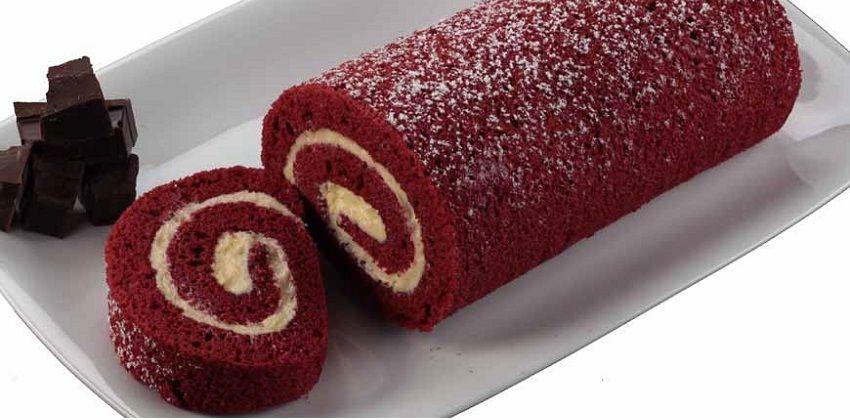 cách làm bánh red velvet cuộn Mê mẩn với cách làm bánh red velvet cuộn đẹp quyến rũ cach lam banh red velvet cuon dep me hon cuc quyen ru 1