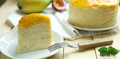 Bánh xoài ngàn lớp ngon ngất ngây mà không cần lò nướng
