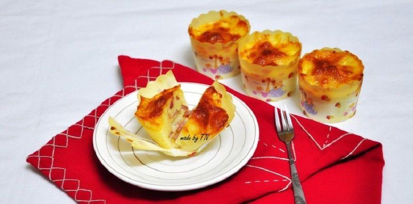 cách làm cupcake mặn 1 cách làm cupcake mặn Cùng học cách làm cupcake mặn ăn sáng nào các bạn ơi cach lam cupcake man an sang tuyet ngon cuc de day 1
