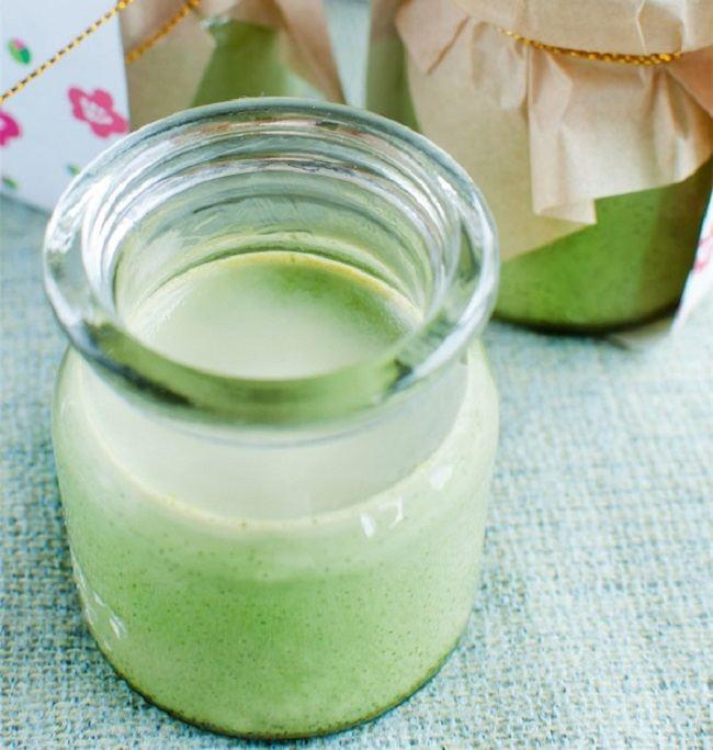 Cách làm sữa chua trà xanh thanh mát giải nhiệt mùa hè 1