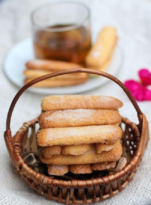 Hướng dẫn cách làm bánh sampa ( Ladyfingers) hấp dẫn 9 cách làm bánh sampa Giòn xốp với cách làm bánh sampa ladyfingers cho món Tiramisu huong dan cach lam banh sampa Ladyfingers hap dan 9