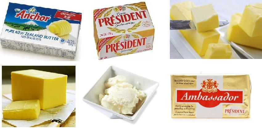 Một số kiến thức về các loại bơ trong làm bánh bạn cần biết