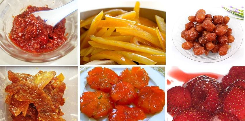 Tổng hợp các cách làm mứt homemade từ trái cây siêu ngon