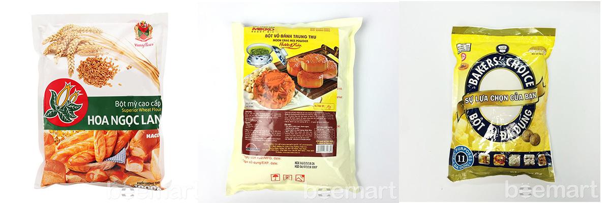 bột làm bánh Trung thu nướng mua nguyên liệu làm bánh trung thu Mua nguyên liệu làm bánh Trung thu ở đâu? bot lam banh nuong