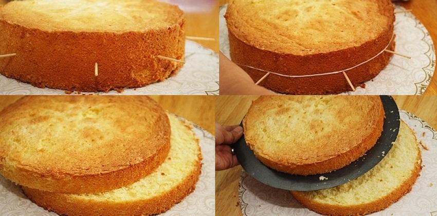 cách cắt bánh gato bằng sợi chỉ 7 cách cắt bánh gato bằng sợi chỉ Mách bạn mẹo cắt bánh gato bằng sợi chỉ siêu đơn giản cach cat banh gato bang soi chi sieu don gian cho ban 7