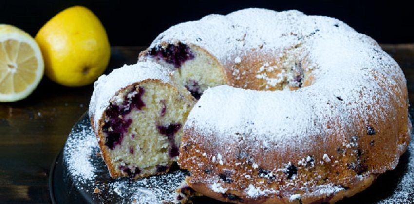 Cách làm bánh bundt chanh việt quất siêu ngon siêu lạ