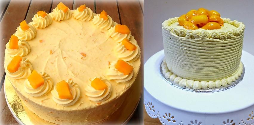 Cách làm bánh chiffon xoài Manilla thơm ngon béo ngậy