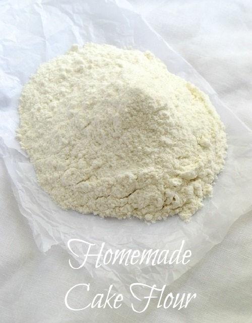 Cách làm bột cake flour siêu đơn giản ngay tại nhà
