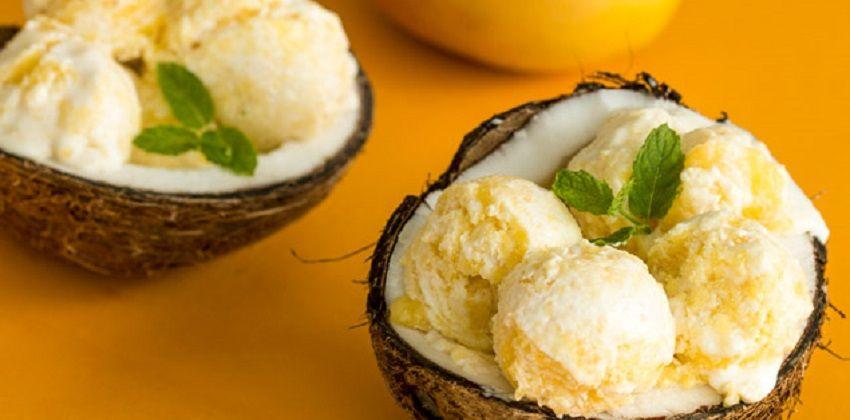 Mát lạnh với cách làm kem xoài dừa tuyệt ngon không thể bỏ lỡ