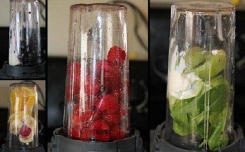 Cách làm sinh tố cầu vồng nhiều màu sắc giàu dinh dưỡng