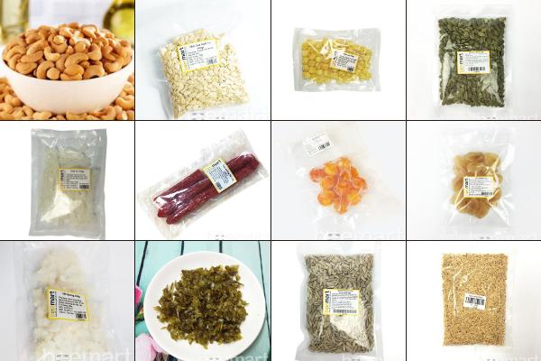 Nguyên liệu làm nhân thập cẩm mua nguyên liệu làm bánh trung thu Mua nguyên liệu làm bánh Trung thu ở đâu? mua nguyen lieu lam banh trung thu o dau 3