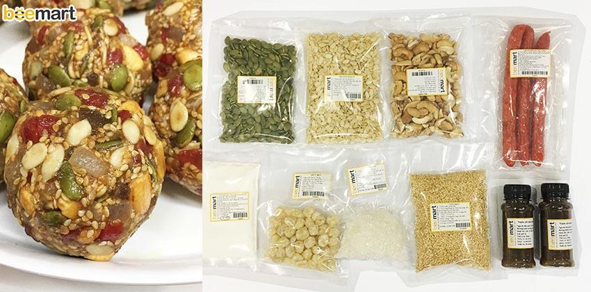 nguyên liệu và dụng cụ 33 nguyên liệu và dụng cụ Nguyên liệu và dụng cụ cần có để làm ra chiếc bánh Trung thu nguyen lieu va dung cu 33