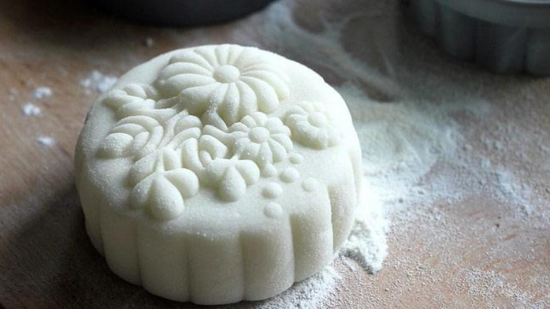 cách làm bánh dẻo chay Cách làm bánh dẻo chay đơn giản cho ngày tết Trung thu đoàn viên cach lam banh deo chay