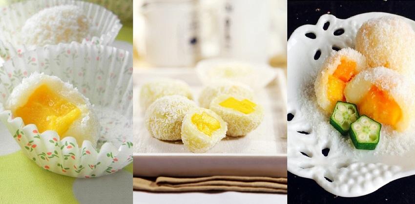 cách làm bánh dẻo nhân xoài 4 cách làm bánh dẻo nhân xoài Cách làm bánh dẻo nhân xoài đón Trung thu về cach lam banh deo nhan xoai thom ngon don trung thu ve 4