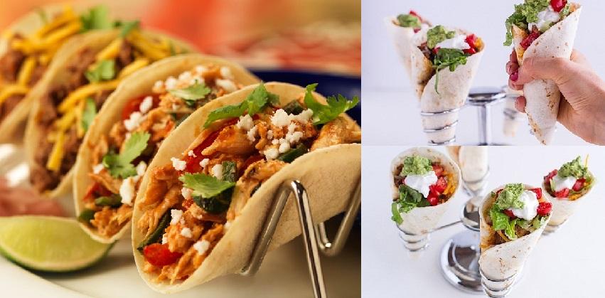 cách làm bánh taco hình nón 2 cách làm bánh taco Cách làm bánh taco hình nón nổi tiếng từ đất nước mexico cach lam banh taco hinh non sieu hap dan ngay tai nha 11