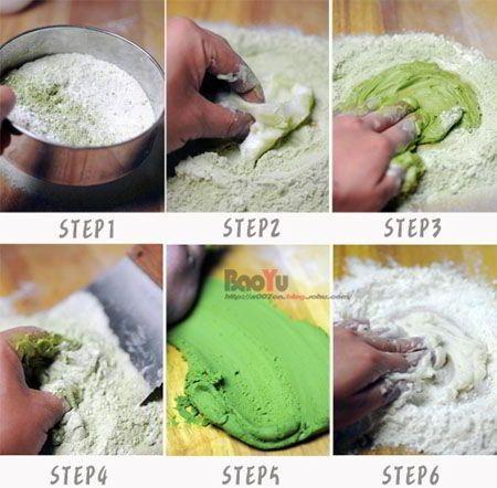 cách làm bánh trung thu ngàn lớp trà xanh 2 cách làm bánh trung thu ngàn lớp trà xanh Đổi vị với bánh Trung thu ngàn lớp trà xanh hấp dẫn cach lam banh trung thu ngan lop tra xanh sieu hap dan 2