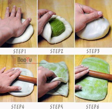 cách làm bánh trung thu ngàn lớp trà xanh 4 cách làm bánh trung thu ngàn lớp trà xanh Đổi vị với bánh Trung thu ngàn lớp trà xanh hấp dẫn cach lam banh trung thu ngan lop tra xanh sieu hap dan 4