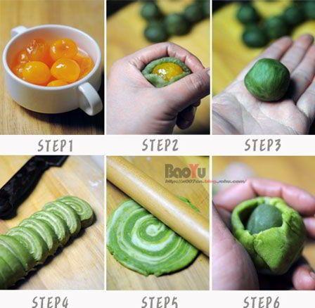 cách làm bánh trung thu ngàn lớp trà xanh 6 cách làm bánh trung thu ngàn lớp trà xanh Đổi vị với bánh Trung thu ngàn lớp trà xanh hấp dẫn cach lam banh trung thu ngan lop tra xanh sieu hap dan 6