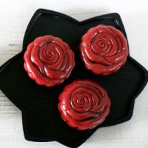 cách làm vỏ bánh red velvet mooncake 2
