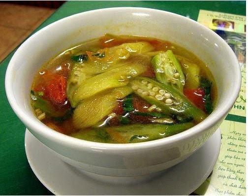 Canh chua cũng là món ăn rất ngon món ăn chay Món ăn chay ngon, dễ làm cho ngày Rằm tháng 7 diem danh 5 mon chay cho ngay ram thang 72