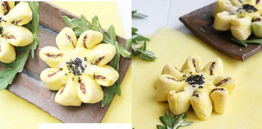 cách làm bánh trung thu hoa cúc Cách làm bánh Trung thu hoa cúc độc đáomà đơn giản ngay tại nhà hoc cach lam banh trung thu hoa cuc dep mat ngon mieng cho ca nha 21