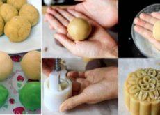 Một số mẹo nhỏ khi nặn bánh và nướng bánh trung thu bạn nên biết