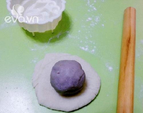 cách làm bánh dẻo nhân khoai môn 5