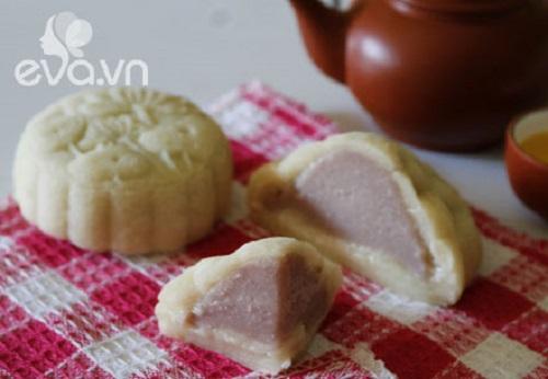 cách làm bánh dẻo nhân khoai môn 9