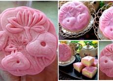 Cách làm bánh dẻo vị dâu nhân sầu riêng hấp dẫn ăn quên sầu 5