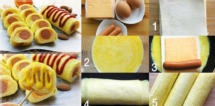 cách làm bánh mì cuộn trứng phomai chiên 5 cách làm bánh mì cuộn trứng phomai chiên Cách làm bánh mì cuộn trứng phomai chiên đầy dinh dưỡng cho bữa sáng cach lam banh mi cuon trung phomai chien cho bua sang 6