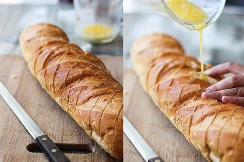 cách làm bánh mì nướng phomai 3 cách làm bánh mì nướng phomai Cách làm bánh mì nướng phomai dinh dưỡng cho bữa sáng cach lam banh mi nuong phomai dinh duong cho bua sang 5