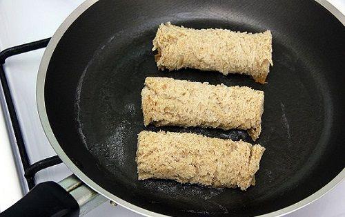 cách làm bánh mì xì gà 6 cách làm bánh mì xì gà Cách làm bánh mì xì gà độc đáo mới lạ ăn vặt tại nhà cach lam banh mi xi ga doc dao moi la an vat tai nha 6