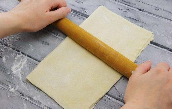cách làm bánh nướng nhân mặn 6