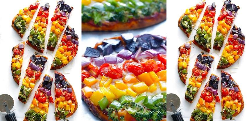 cách làm bánh pizza rau củ 1 cách làm bánh pizza rau củ Cách làm bánh pizza cầu vồng từ rau củ lạ mắt hấp dẫn cach lam banh pizza rau cu cau vong la mat hap dan 1