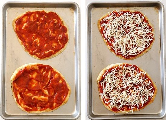 cách làm bánh pizza rau củ 3