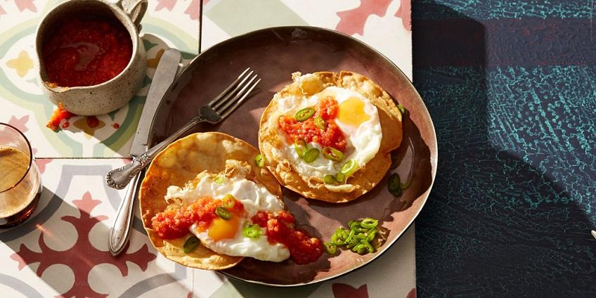 Cách làm bánh trứng cay Mexico mới lạ đổi vị bữa sáng