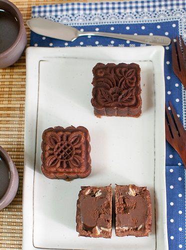 công thức vỏ bánh dẻo lạnh hương Baileys 2