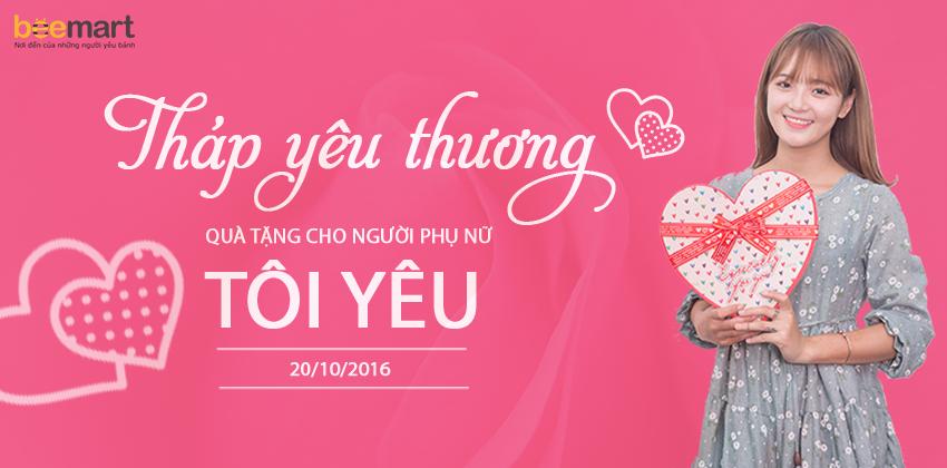 quà tặng 20-10 7 quà tặng 20-10 Quà tặng 20-10 dành cho người phụ nữ đặc biệt của bạn banner blog
