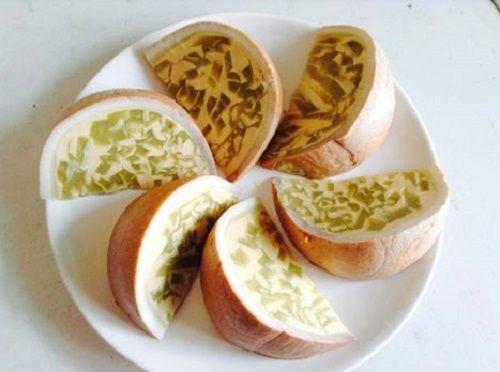 cách làm bánh flan dừa 3 cách làm bánh flan dừa Cách làm bánh flan trái dừa cực mới lạ ngay tại nhà cach lam banh flan dua moi la cuc ky don gian tai nha 4