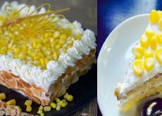 cách làm bánh kem bắp 3