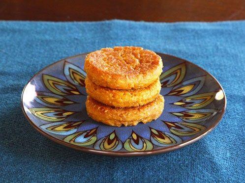cách làm bánh khoai lang tẩm dừa 4